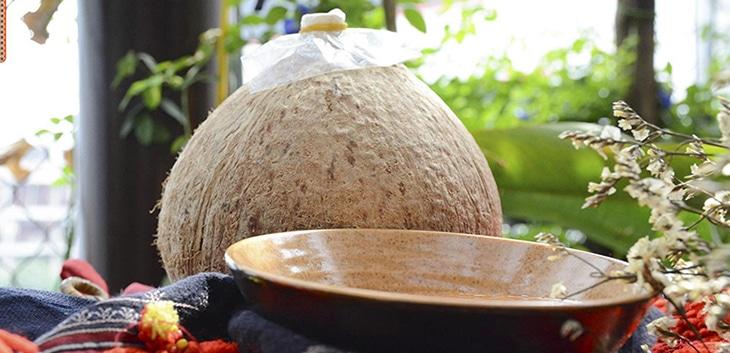 Cách ngâm rượu dừa